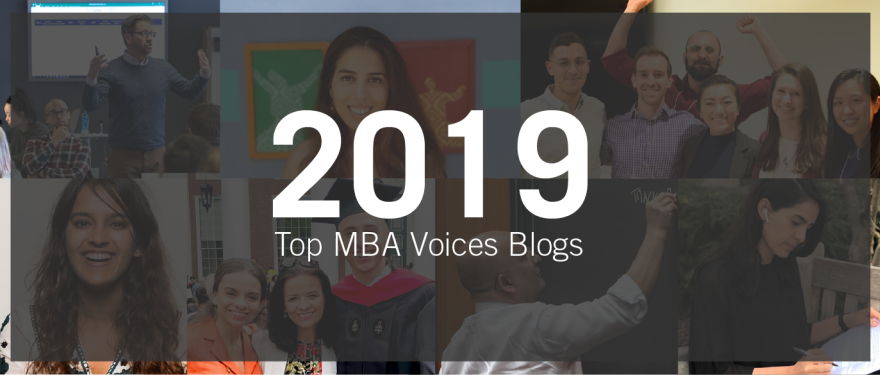 Top 10 MBA Voices Blogs of 2019
