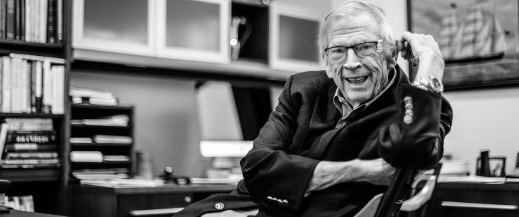 Remembering SEI's Founding Dean: John McArthur (MBA 1959, DBA 1963)