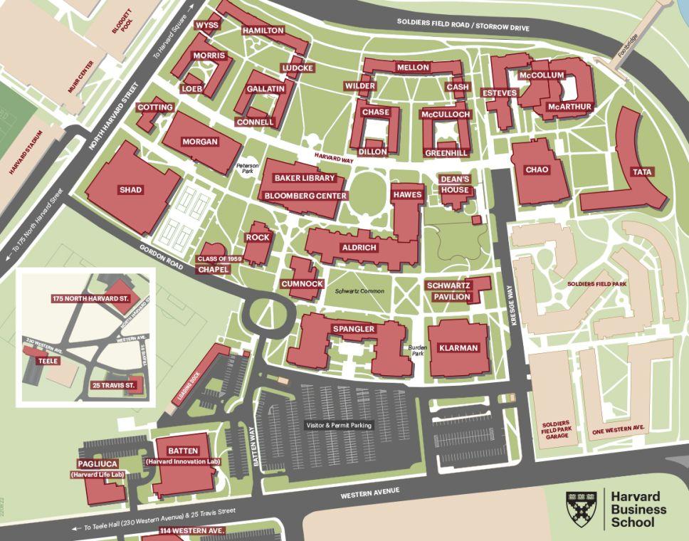 Map - Harvard Business School