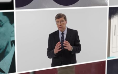 Open video player dialog - Professor Clay Christensen explains disruption Video