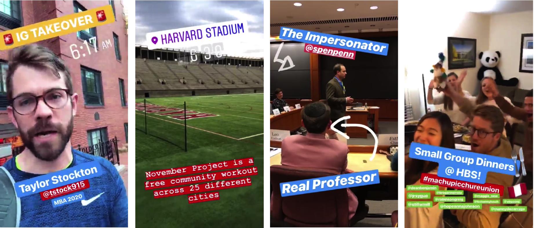 Instagram Takeover - Taylor Stockton (MBA 2020)